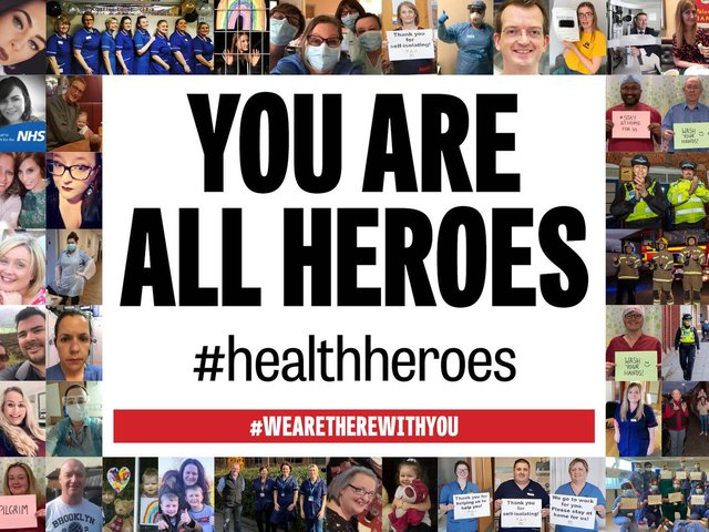 #HealthHeroes
