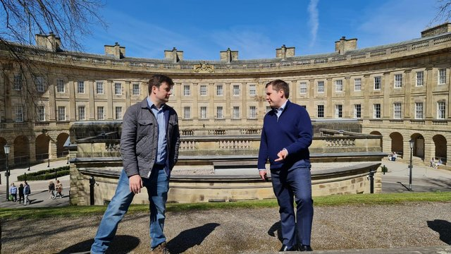 Secretary of State for Housing, Communities andLocal Government MPRobert Jenrick visited Buxton and met with MP Robert Largan to discuss plans for the future of the town