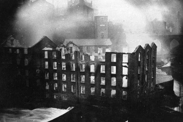 Factory fires were as big a risk in the history of New Mills as they are in parts of the Global South today.