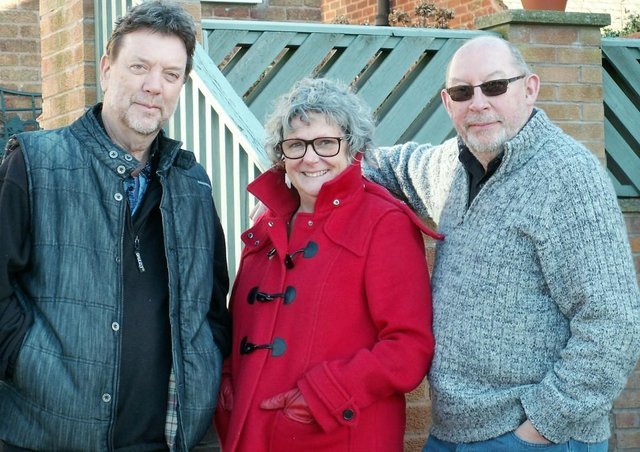 Jon Scaife, Judy Dunlop and Nigel Corbett perform together as Rare Occasion.