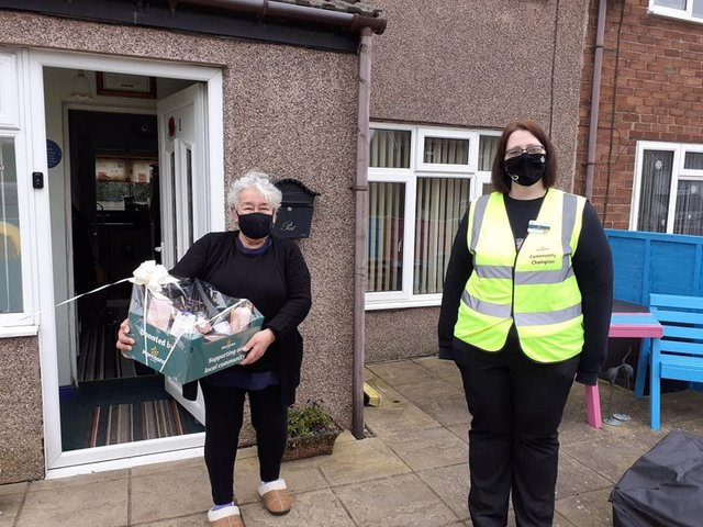 Lia Roos was nominated to be one of 30 people across the country who received a pamper hamper from Morrisons on International Women's Day