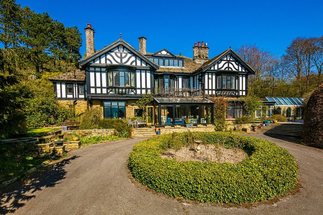 The Homestead in Hope is on the market now with offers in the region of £1,750,000 being invited