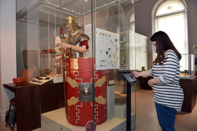 Buxton museum reopens.