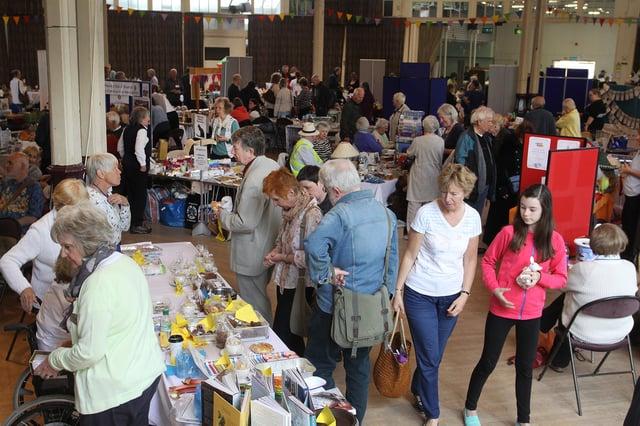 A previous Buxton Rotary Club Bazaar