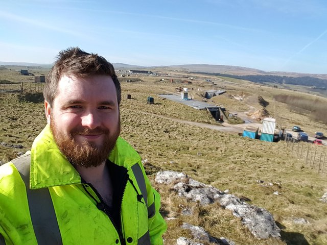 Dr Sam Rigby, who is a member of the Blast and Impact Research Group (pic: Blast and Impact Research Group/University of Sheffield)