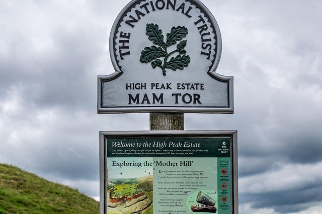 Police discovered the couple with a child in the Mam Tor car park on Saturday night after they had travelled from London. Picture James Hardisty.