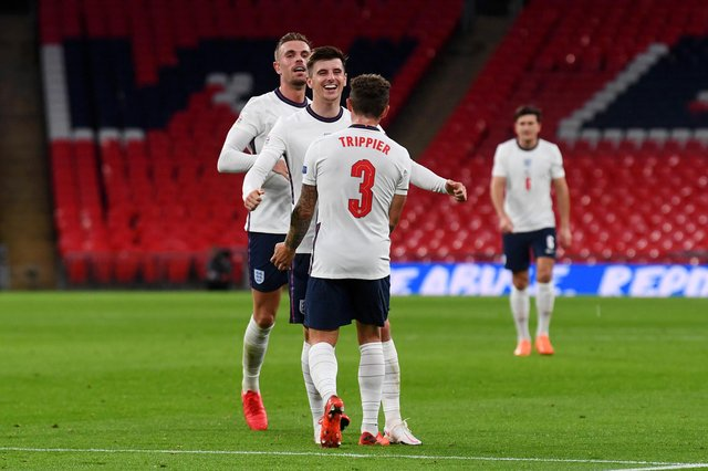England will be aiming to bring some cheer to the nation this summer by winning the Euros. (Photo by Neil Hall - Pool/Getty Images)