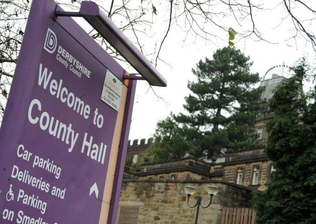 County Hall in Matlock.