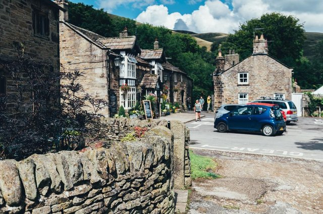 The picturesque Peak District village of Edale has been named one of the best places to live in the UK.