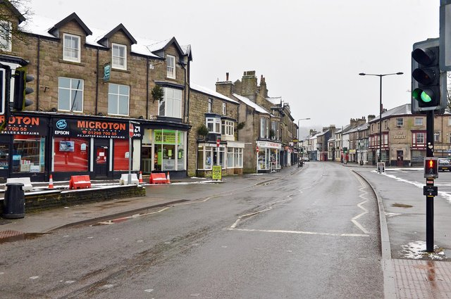Only time will tell when people will return to the streets of Buxton again.