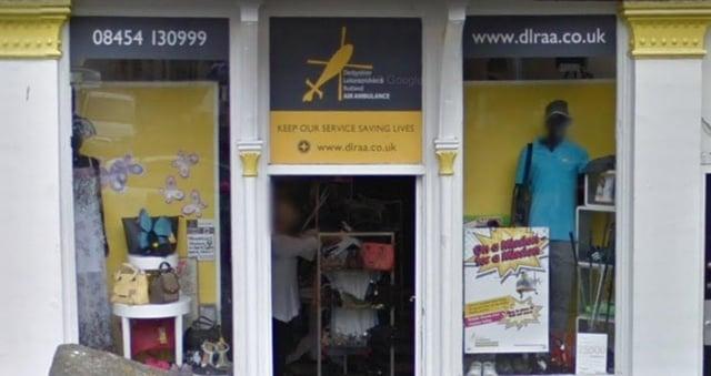 Buxton's Air Ambulance shop in Spring Gardens