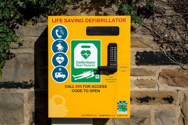 Property owners around Spring Gardens are being asked whether they could house a public access defibrillator.