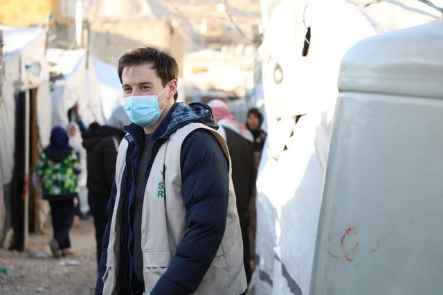 Charles Lawley has just returned from a five-week aid mission to help Syrian refugees