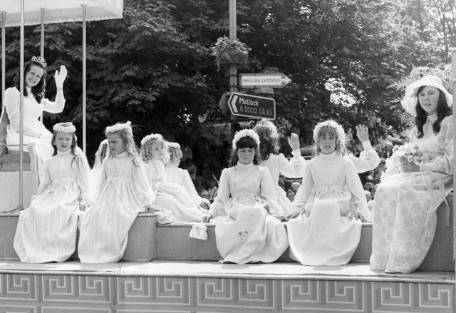 Buxton Advertiser archive, the 1972 Buxton Carnival queen