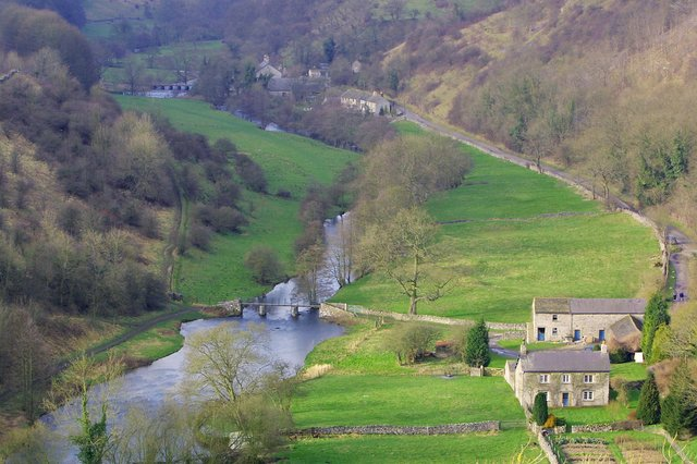 Monsal Dale is a popular destination in the Peak District National Park for visitors who are looking for a scenic walk.