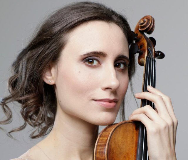 Violinist Jennifer Pike - the festival's Artist in Residence this year. Photo: Arno