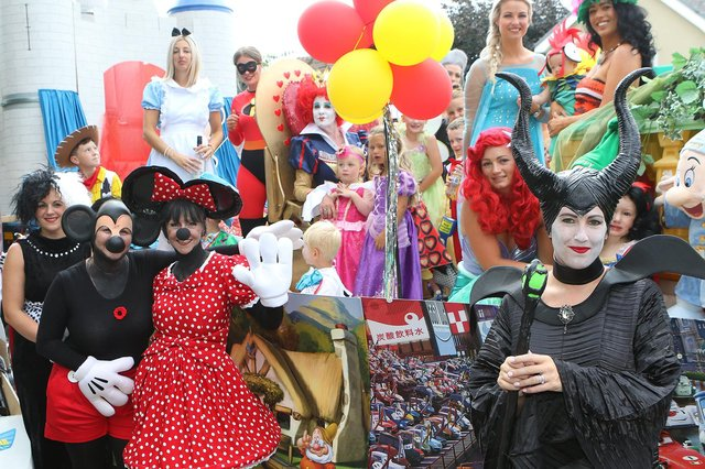 A host of Disney characters in 2018