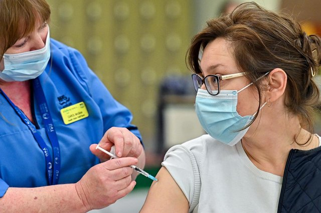 A million doses of the coronavirus vaccine have now been administered by teams in Derbyshire.  (Photo by Jeff J Mitchell - Pool/Getty Images)