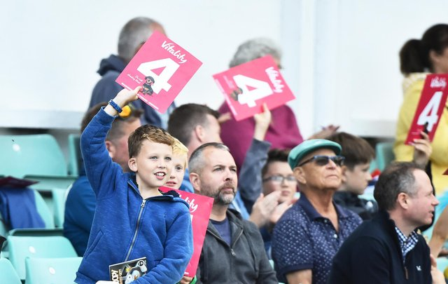 Fans will be back at Vitality Blast matches this summer. (Photo by Nathan Stirk/Getty Images)