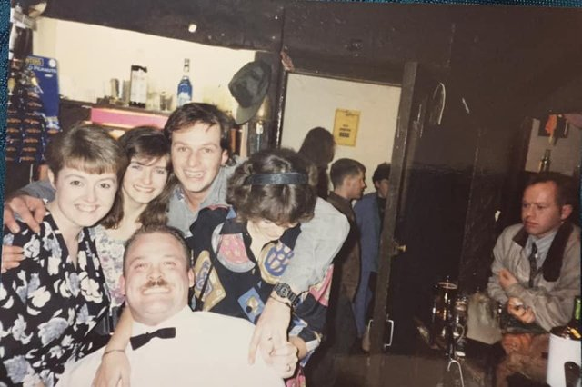 Buxton's night life in the 80s and 90s. A reunion is planned for next year to bring people together once again