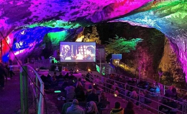 Peak Cavern in Castleton will host the socially distanced film screenings this summer.