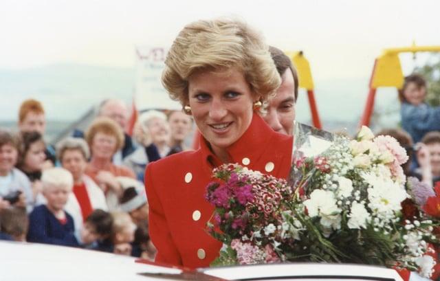 Princess Diana, Dove Holes 1989