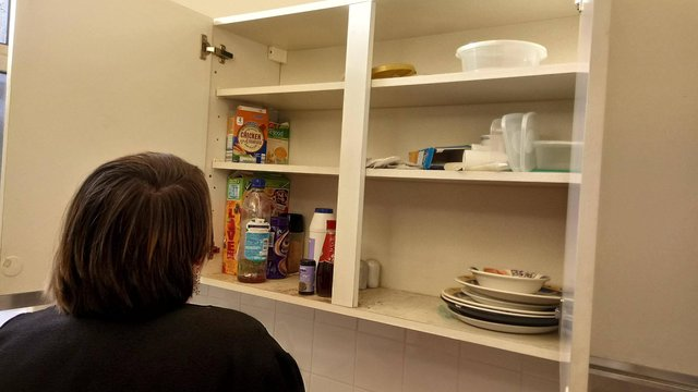 The food banks can help those with empty cupboards