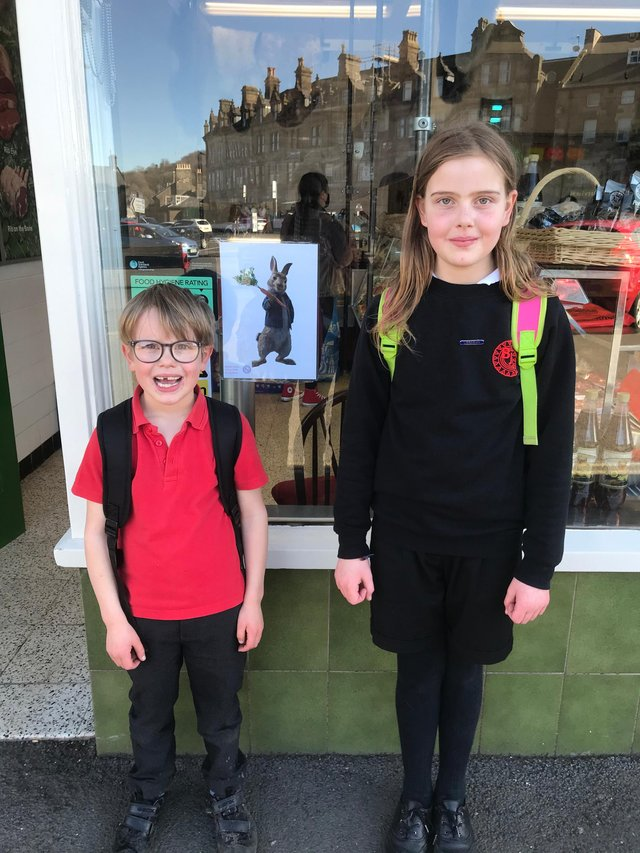 Buxton Junior School has organised a Easter bunny hunt around Buxton for the Easter holidays