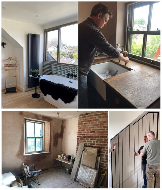 SnapTin in Bakewell has been a 12 month family development project, with fittings, paint and additions coming from local tradespeople in Sheffield, Bakewell and Chesterfield.