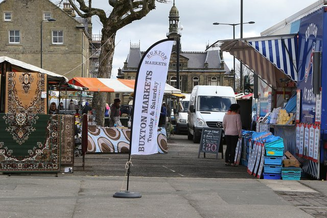 Buxton's twice weekly markets were revamped and relaunched in 2016.