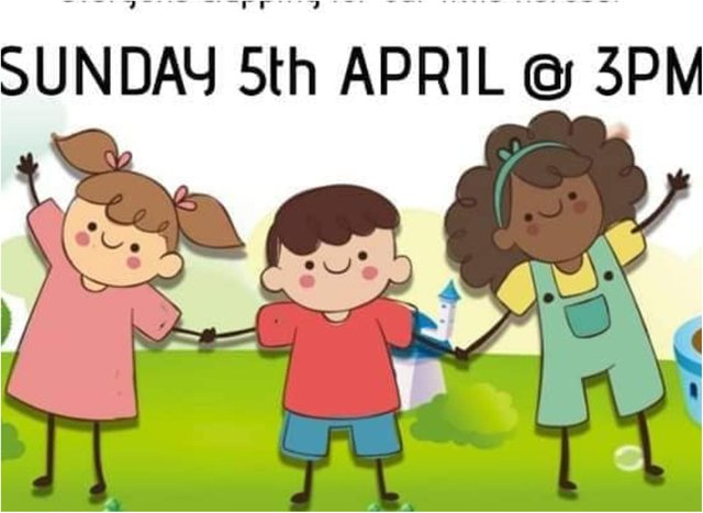 The Clap For Kids event is due to take place this afternoon.