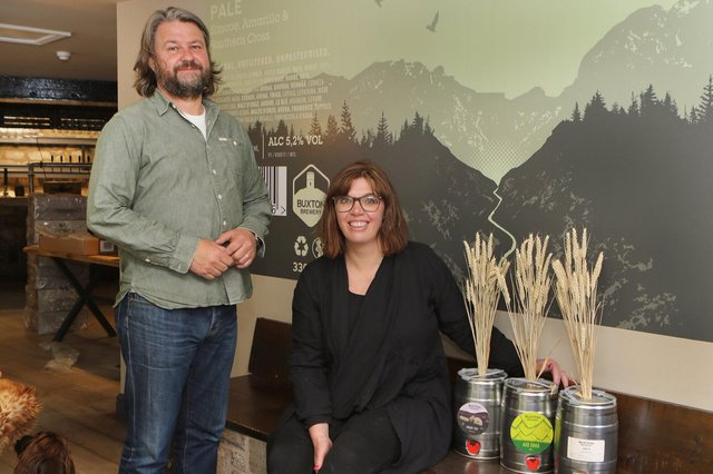 Matthew and Emma Blackwood preparing to reopen the Tap House after its merger with 53 Degrees North