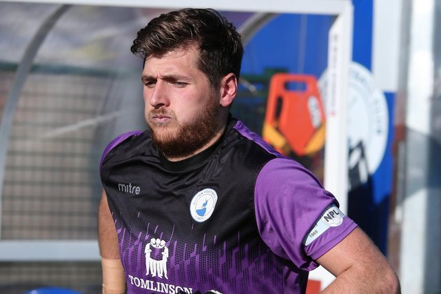 Grant Shenton has left Buxton after nearly two years with the club.