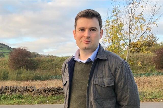 Robert Largan, High Peak MP.
