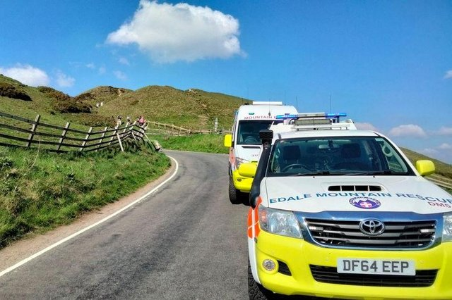 The work of Mountain Rescue Team volunteers is vital to the safety of Peak District visitors.