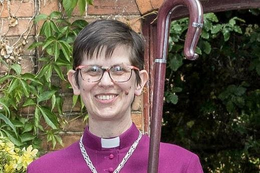 Libby Lane is the Bishop of Derby. Photo by David Vowles.