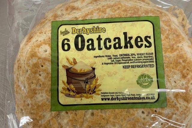 Derbyshire Oatcakes.