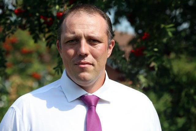 Dean Wallace, Derbyshire County Council's director of public health.