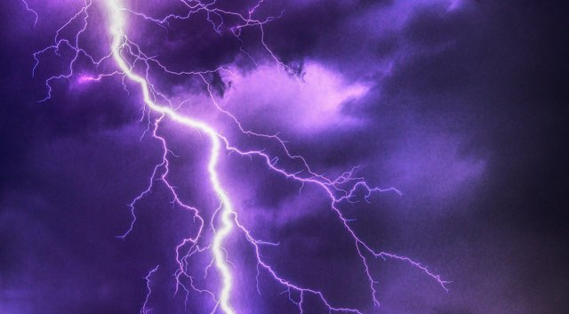 Weather warnings have been issued for thunderstorms this week