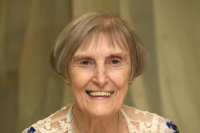Buxton resident Margaret Robinson, who has died at the age of 96.