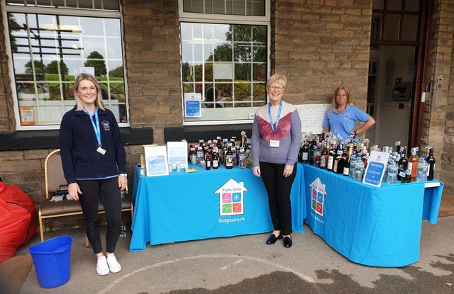 Volunteers are essential to the fundraising efforts which sustain Blythe House and Helen's Trust.