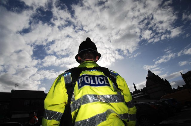 Police attended Temple Road in Buxton on Tuesday after reports of a group fight