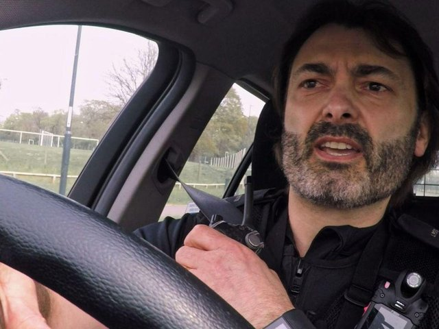 PC Jason Potts on Traffic Cops.