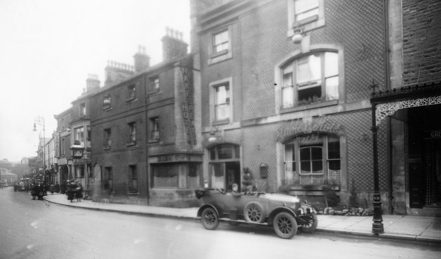 1920s, Shakespeare Hotel, Spring Gardens, later demolished to make way for Woolworths and the row of shops including Village Saver