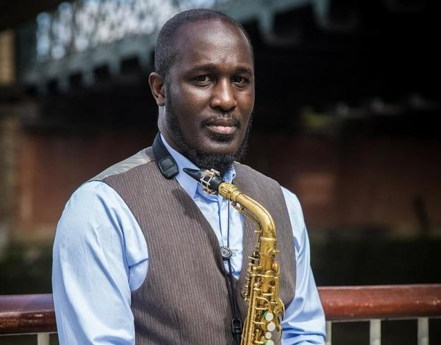 Tony Kofi plays at Derby Market Place on July 24 in a concert hosted by Derby Jazz.
