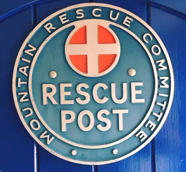 A dead body was found by Derbyshire Constabulary and Edale Mountain Rescue Team on land above Hathersage. Credit: Edale Mountain Rescue Team.