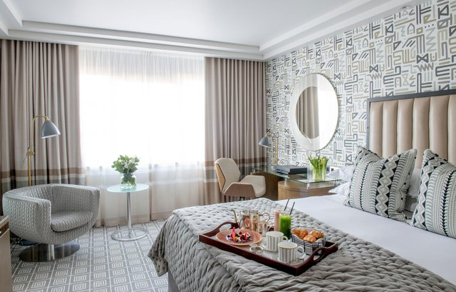 Accommodation was at the five-star Marylebone Hotel. Image: SIM Photography