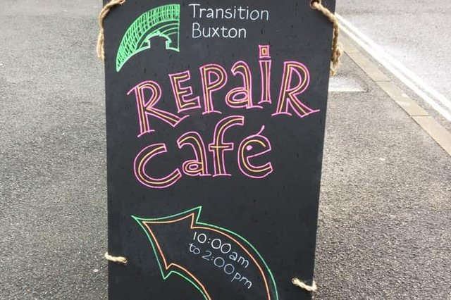 The Transition Buxton repair café takes place on the fourth Saturday of every month.