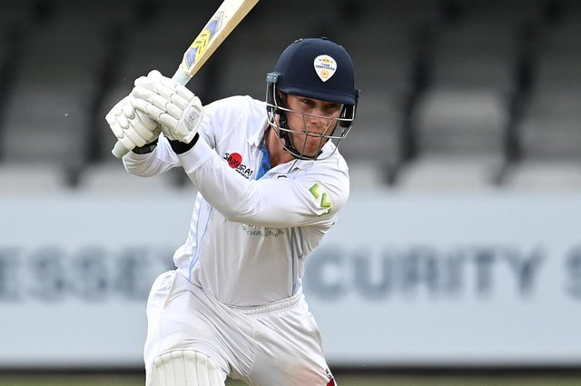 Luis Reece hit a half century for Derbyshire but it was in vain as Lancashire won well.