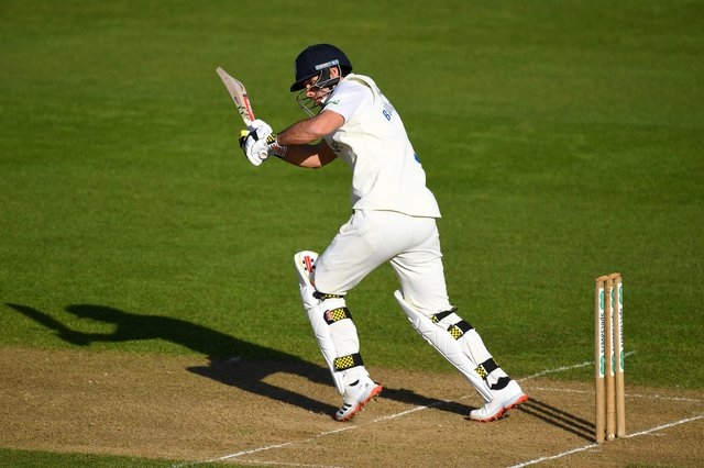David Bedingham was in excellent form for Durham. (Photo by Gareth Copley/Getty Images)